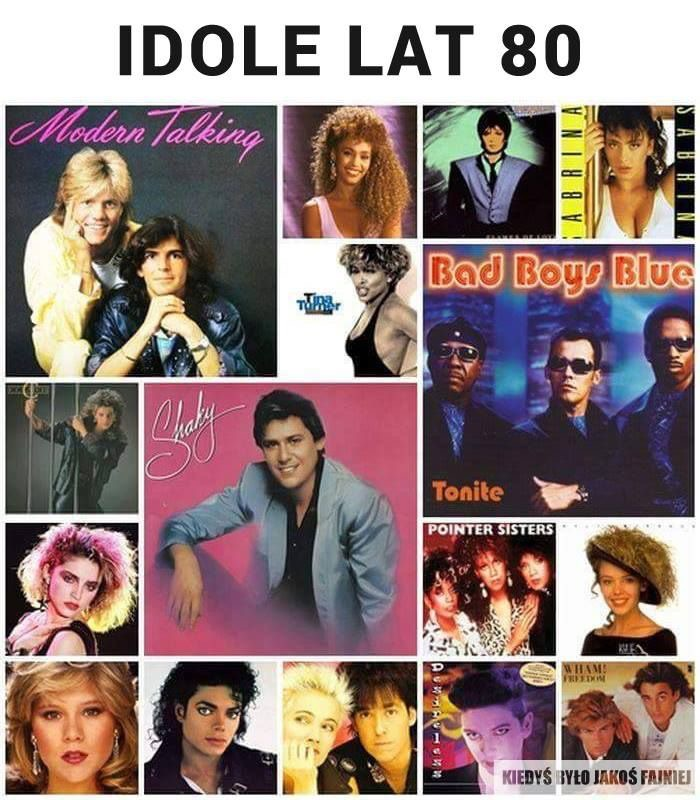 Idole lat 80