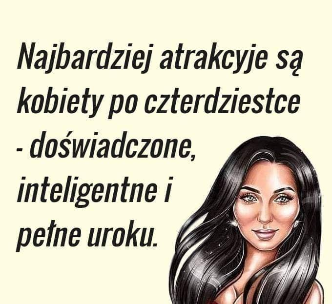 Najbardziej inteligentne są kobiety po czterdziestce