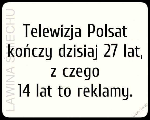 Telewizja Polsat kończy dzisiaj 27 lat