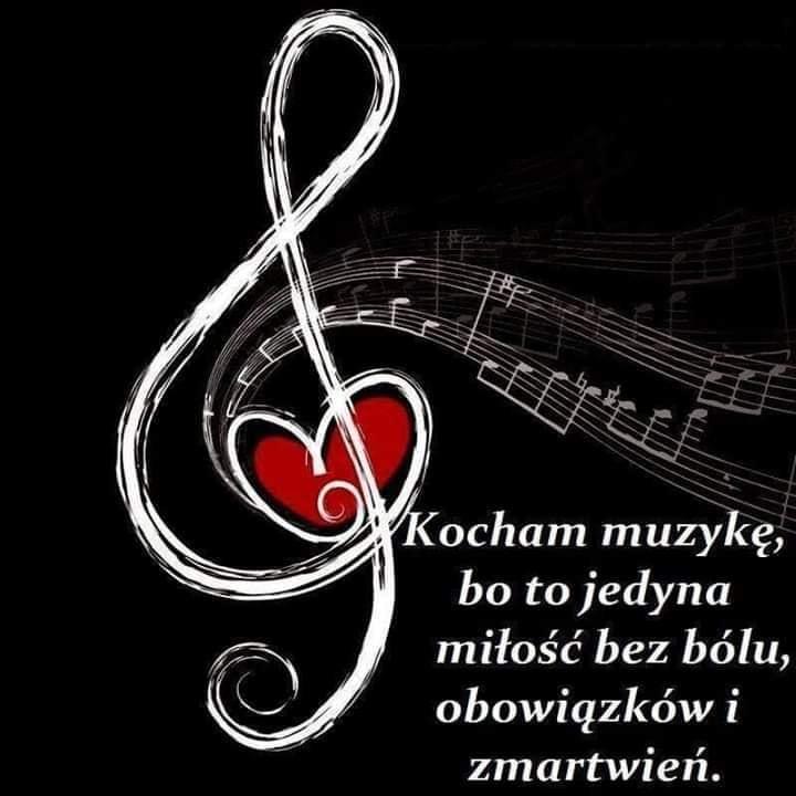 Kocham muzykę, bo to jedyna miłość bez bólu, obowiązków i...