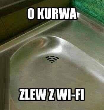 Zlew z Wi-Fi
